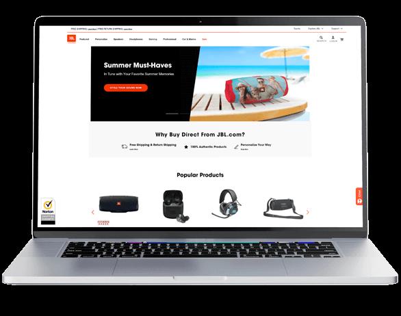 JBL - Norton Shopping Guarantee - Desktop